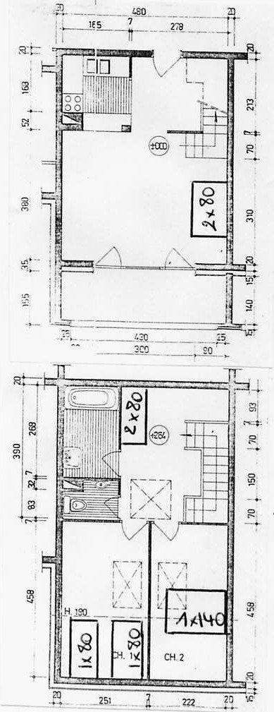 ANDAINS 3 pièces duplex ST JEAN D AULPS